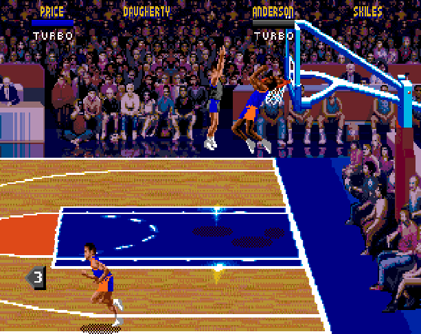 NBA Jam Midway Acclaim Sega Genesis Mega Drive MD Xtreme Retro 6