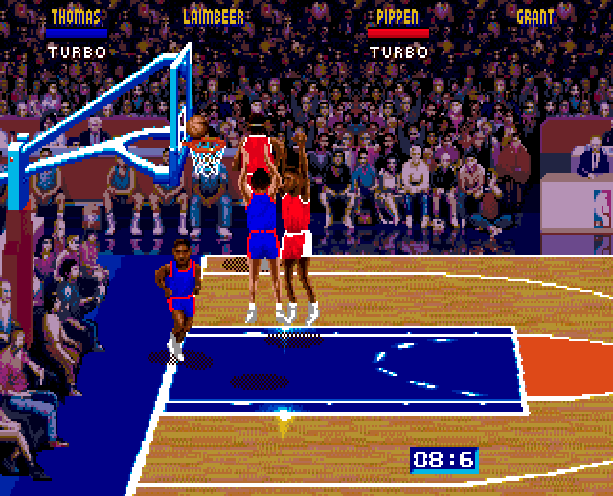 NBA Jam Midway Acclaim Sega Genesis Mega Drive MD Xtreme Retro 8