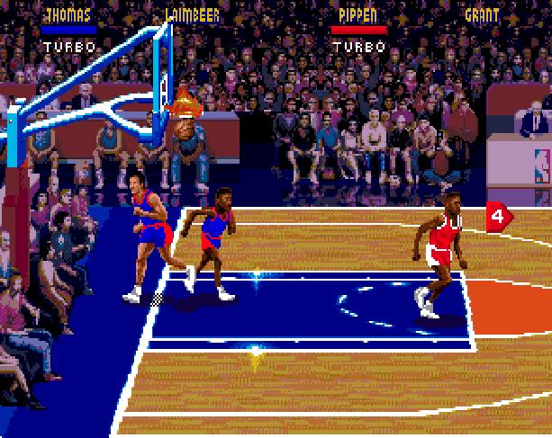 NBA Jam Midway Acclaim Sega Genesis Mega Drive MD Xtreme Retro 9
