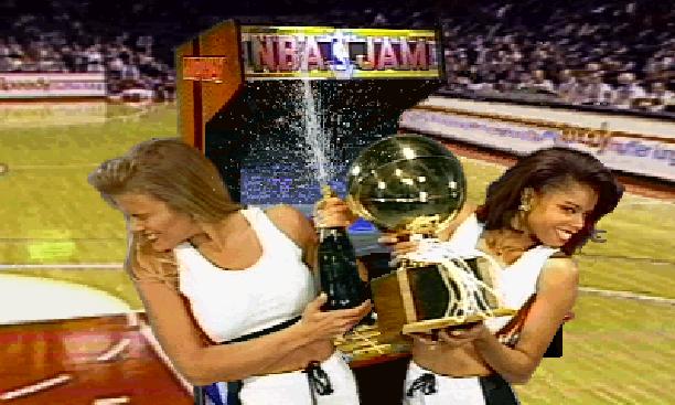 NBA Jam Midway Acclaim Sega Genesis Mega Drive MD Xtreme Retro Pixel Art