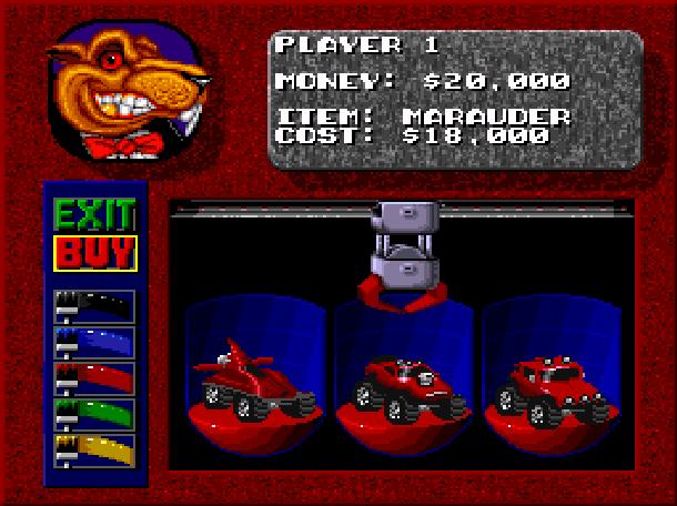 Rock N' Roll Racing Silicon & Synapse Interplay Super Nintendo SNES Sega Genesis Mega Drive MD Game Boy Advance GBA Xtreme Retro 2