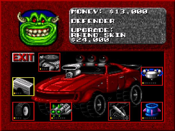 Rock N' Roll Racing Silicon & Synapse Interplay Super Nintendo SNES Sega Genesis Mega Drive MD Game Boy Advance GBA Xtreme Retro 9