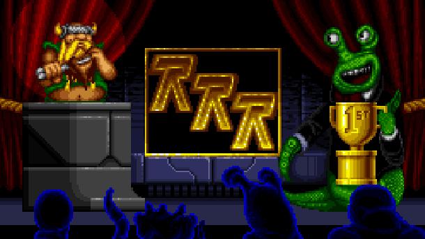 Rock N' Roll Racing Silicon & Synapse Interplay Super Nintendo SNES Sega Genesis Mega Drive MD Game Boy Advance GBA Xtreme Retro Pixel Art Lost Vikings