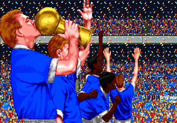Sensible Soccer Sensible Software Jon Hare Sega Mega Drive MD Genesis Mega CD Sega CD Super Nintendo SNES Master System MS Game Gear GG Game Boy GB PC Amiga Pixel Art Xtreme Retro