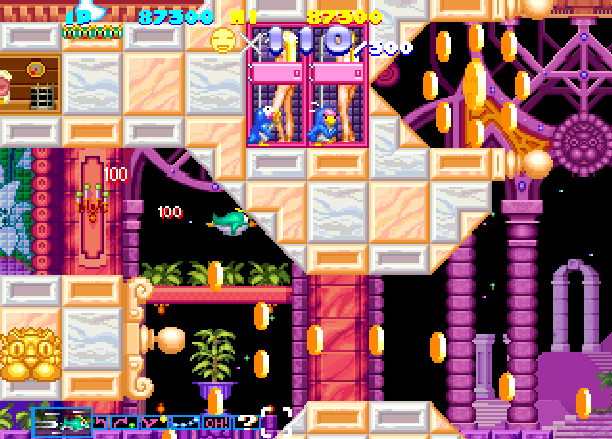 Sexy Parodius Konami Shoot'em up Arcade Coin-Op Sony PlayStation PSX PSone Sega Saturn PSP Xtreme Retro 10