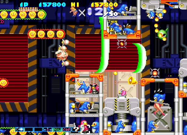 Sexy Parodius Konami Shoot'em up Arcade Coin-Op Sony PlayStation PSX PSone Sega Saturn PSP Xtreme Retro 9