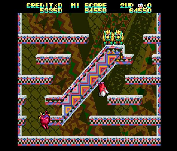 Snow Bros Toaplan Arcade Coin-Op Nintendo Game Boy GB NES Sega Genesis Mega Drive Amiga Xtreme Retro 9