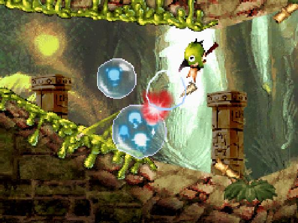 Soul Bubbles Eidos Nintendo DS NDS Puzzle Xtreme Retro 1