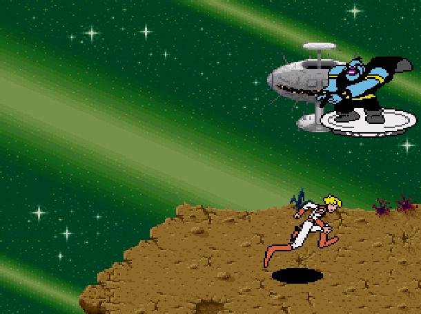 Space Ace Super Nintendo SNES Xtreme Retro 3