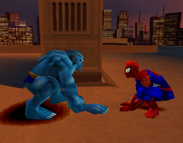 Spider-Man 2 Enter Electro Activision Vicarious Visions Sony PlayStation PSX PSone Xtreme Retro