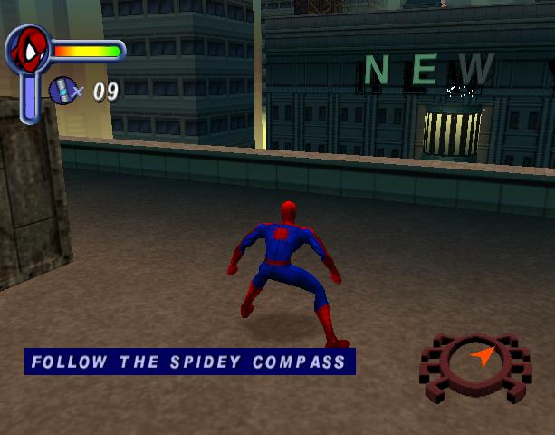 Spider-Man Activision Neversoft Entertainment Sega Dreamcast Xtreme Retro