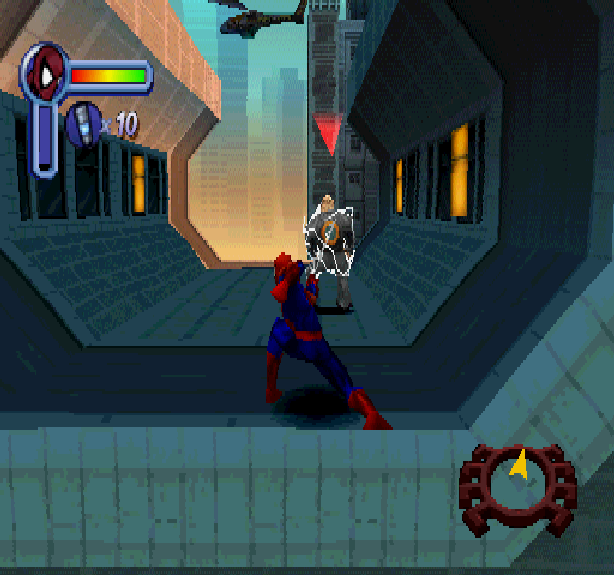 Spider-Man Activision Neversoft Entertainment Sony PlayStation PSX PSone Xtreme Retro
