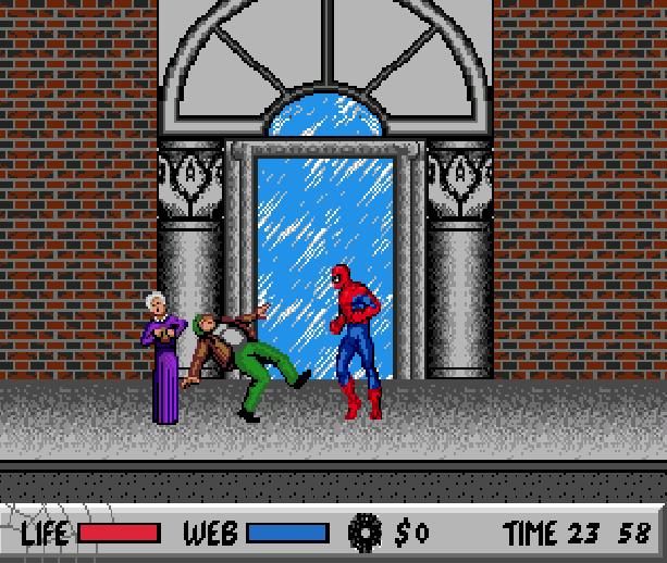 Spider-Man VS The Kingpin Sega Genesis Mega Drive MD Mega CD Master System MS Game Gear GG Xtreme Retro