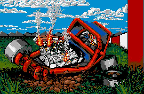 Stunt Car Racer Stunt Track Racer MicroStyle MicroProse MicroPlay Geoff Crammond Amiga Amstrad CPC Atari ST Commodore 64 DOS ZX Spectrum Xtreme Retro