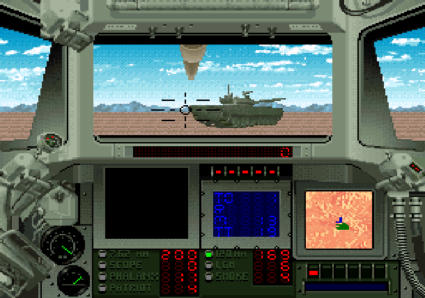 Super Battletank 2 Imagineering Super Nintendo SNES Tank Simulation Xtreme Retro 10