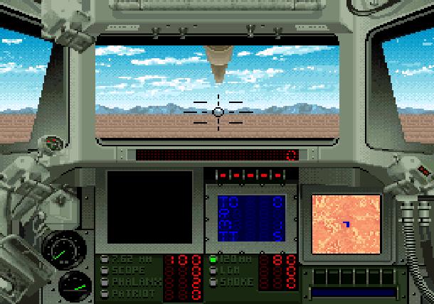 Super Battletank 2 Imagineering Super Nintendo SNES Tank Simulation Xtreme Retro 3