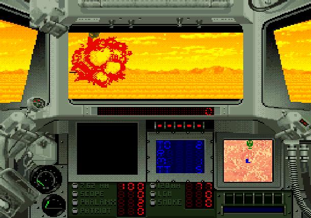 Super Battletank 2 Imagineering Super Nintendo SNES Tank Simulation Xtreme Retro 4