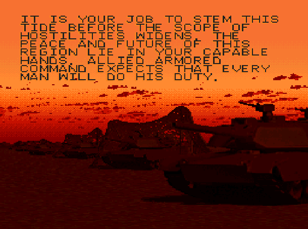 Super Battletank 2 Imagineering Super Nintendo SNES Tank Simulation Xtreme Retro 6