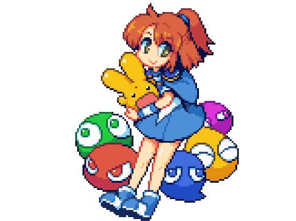 Super Puyo Puyo Super Nintendo SNES Puzzle Xtreme Retro Pixel Art