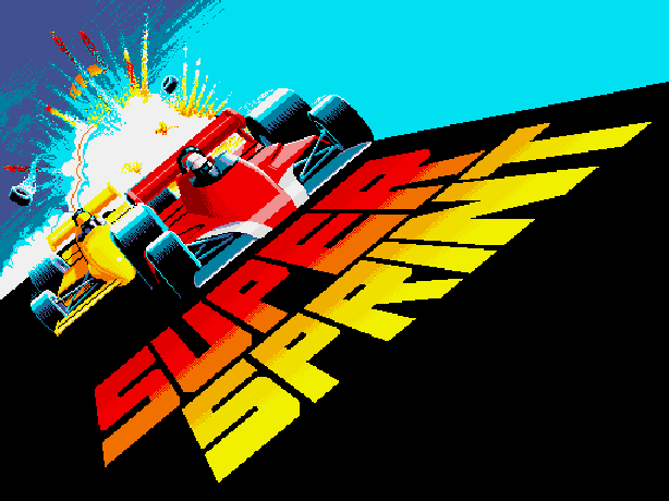 Super Sprint Atari Games Robert Weatherby and Kelly Turner Arcade Amstrad CPC Atari ST Commodore 64 NES ZX Spectrum Xtreme Retro 1