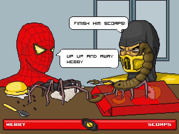The Amazing Spider-Man Marvel Comics Pixel Art Xtreme Retro 10