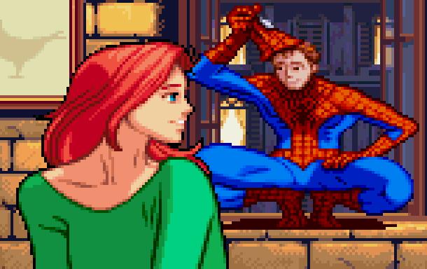 The Amazing Spider-Man Marvel Comics Pixel Art Xtreme Retro 2