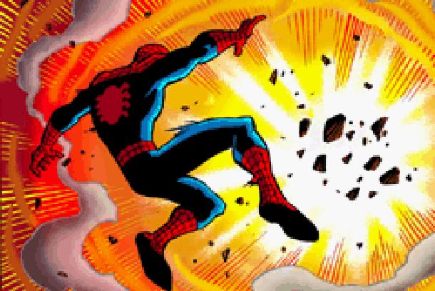 The Amazing Spider-Man Marvel Comics Pixel Art Xtreme Retro 7