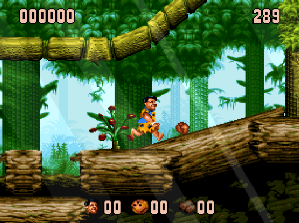 The Flintstones Ocean Sega Genesis Mega Drive MD Super Nintendo SNES Movie Xtreme Retro 10