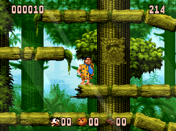The Flintstones Ocean Sega Genesis Mega Drive MD Super Nintendo SNES Movie Xtreme Retro 11