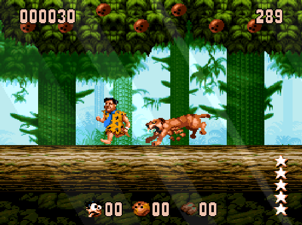 The Flintstones Ocean Sega Genesis Mega Drive MD Super Nintendo SNES Movie Xtreme Retro 13