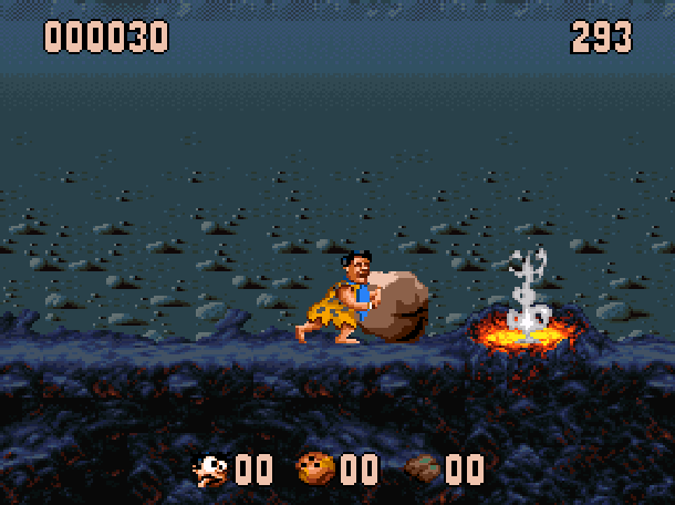 The Flintstones Ocean Sega Genesis Mega Drive MD Super Nintendo SNES Movie Xtreme Retro 14