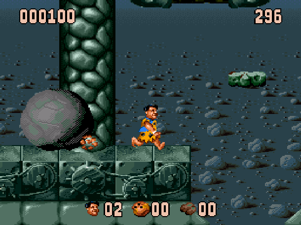 The Flintstones Ocean Sega Genesis Mega Drive MD Super Nintendo SNES Movie Xtreme Retro 17