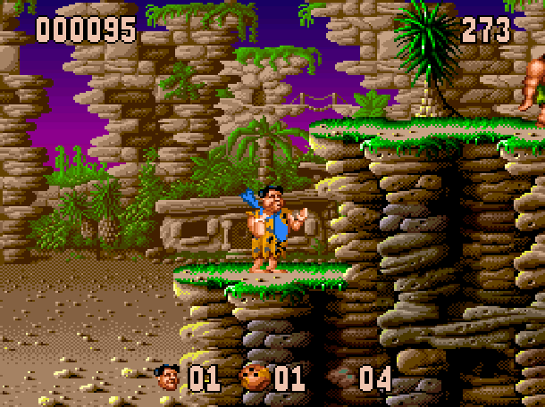 The Flintstones Ocean Sega Genesis Mega Drive MD Super Nintendo SNES Movie Xtreme Retro 4
