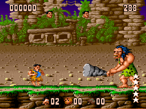The Flintstones Ocean Sega Genesis Mega Drive MD Super Nintendo SNES Movie Xtreme Retro 7