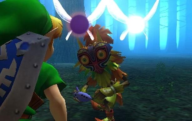The Legend of Zelda Majoras Mask 3D Nintendo EAD 3DS Xtreme Retro 1