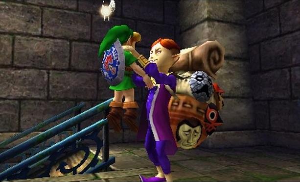 The Legend of Zelda Majoras Mask 3D Nintendo EAD 3DS Xtreme Retro 4