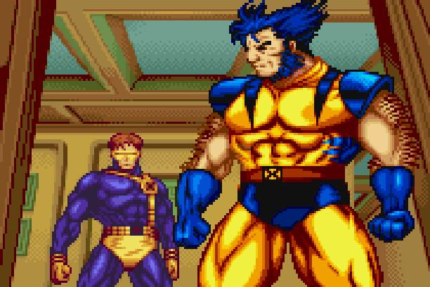 X-Men Reign of Apocalypse Nintendo Game Boy Advance GBA Digital Eclipse Software Activision Beat em up Xtreme Retro Pixel Art