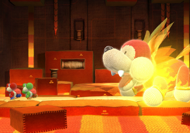 Yoshi's Woolly World Nintendo SPD Wii U Good Feel Xtreme Retro 2
