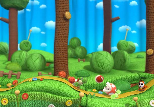 Yoshi's Woolly World Nintendo SPD Wii U Good Feel Xtreme Retro 3