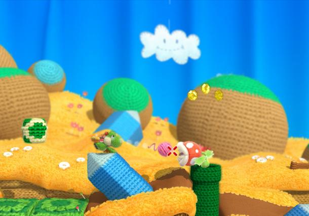Yoshi's Woolly World Nintendo SPD Wii U Good Feel Xtreme Retro 4