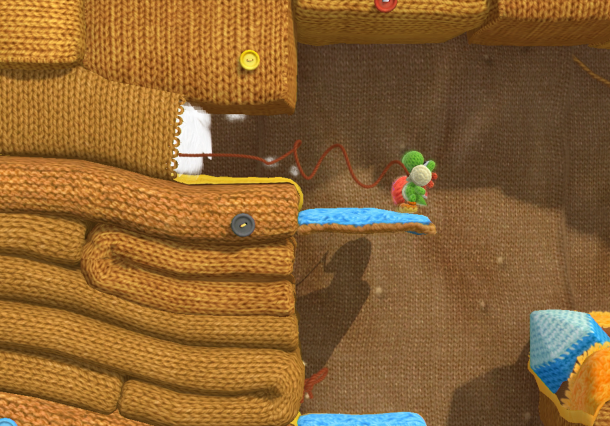 Yoshi's Woolly World Nintendo SPD Wii U Good Feel Xtreme Retro 6