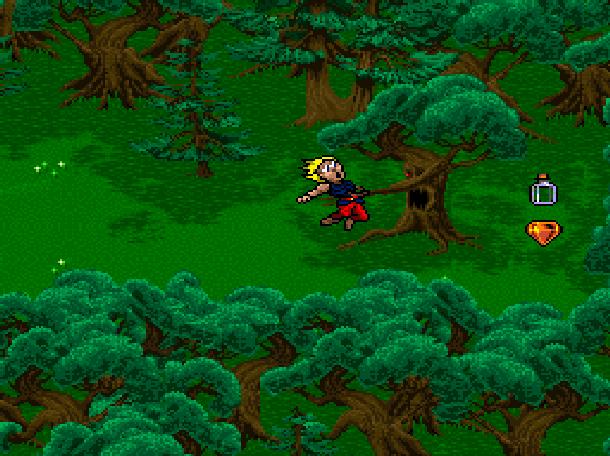 Young Merlin Super Nintendo SNES Westwood Studios Virgin Interactive Adventure RPG Xtreme Retro 12