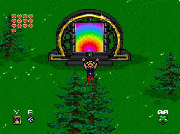Young Merlin Super Nintendo SNES Westwood Studios Virgin Interactive Adventure RPG Xtreme Retro 16