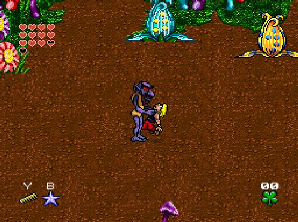 Young Merlin Super Nintendo SNES Westwood Studios Virgin Interactive Adventure RPG Xtreme Retro 19