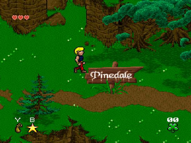 Young Merlin Super Nintendo SNES Westwood Studios Virgin Interactive Adventure RPG Xtreme Retro 2