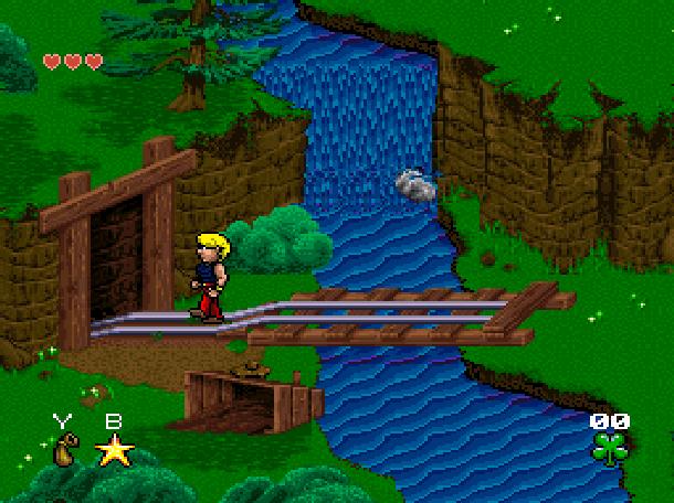Young Merlin Super Nintendo SNES Westwood Studios Virgin Interactive Adventure RPG Xtreme Retro 3