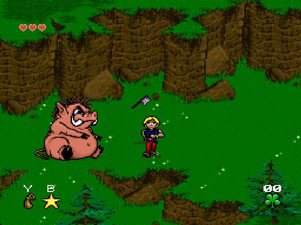 Young Merlin Super Nintendo SNES Westwood Studios Virgin Interactive Adventure RPG Xtreme Retro 9