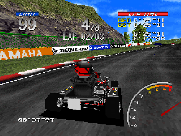 Ayrton Senna Kart Duel 2 Sunsoft Sony PlayStation PSX PSone Xtreme Retro 13
