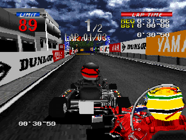 Ayrton Senna Kart Duel 2 Sunsoft Sony PlayStation PSX PSone Xtreme Retro 14