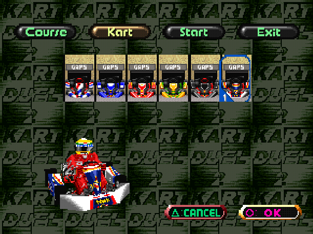 Ayrton Senna Kart Duel 2 Sunsoft Sony PlayStation PSX PSone Xtreme Retro 15